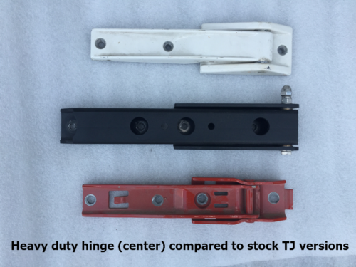 Tj Lj Heavy Duty Replacement Tailgate Hinges Gr8tops