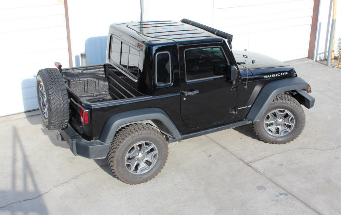 JK recruit half hardtop kit