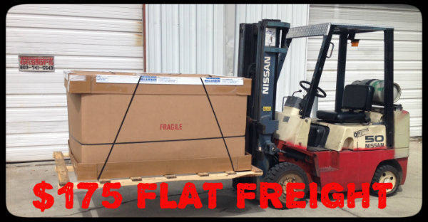 Flat freight pricing $175 !   (see details)