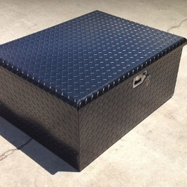 Secure Jeep Storage Box TJ LJ JK CJ Scrambler YJ