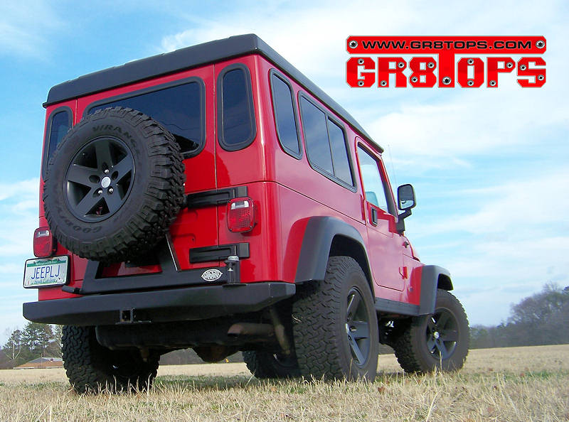 Lj Safari Cab Full Hardtop Gr8tops