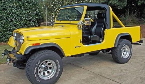 Scrambler CJ-8 1981-1986