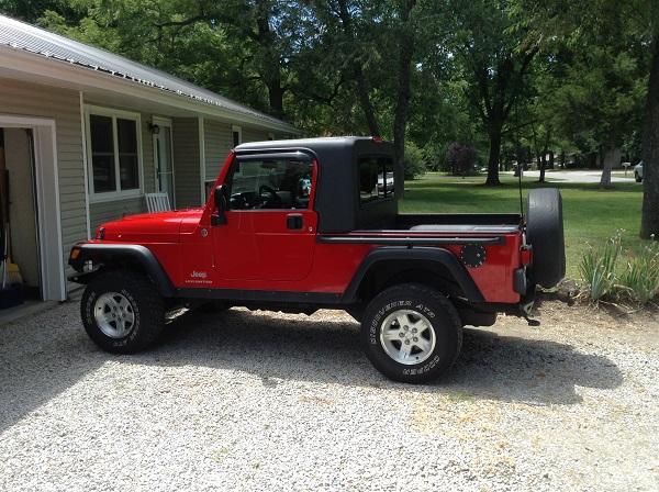 Jeep Lj Truck Top