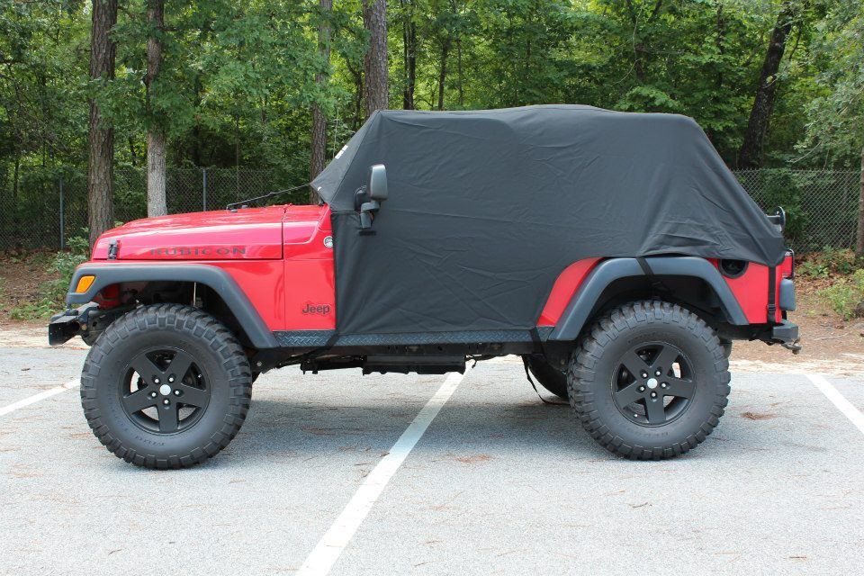 Jeep Wrangler Rain Cover >> Jeep Jacket – LJ Unlimited – GR8TOPS