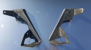 JKU Recruit cage kit - floor brackets