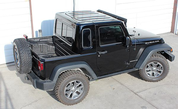 Recruit 2-Door JK Half Hardtop Kit